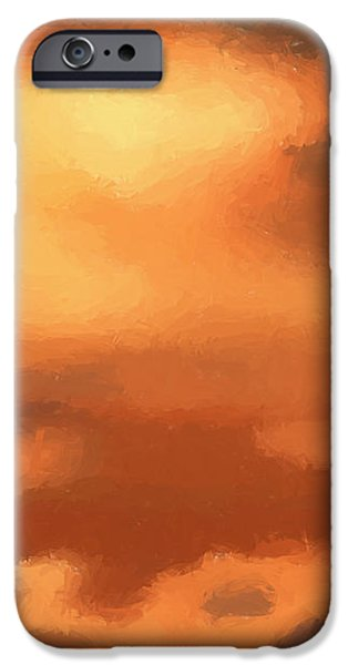 Sunset clouds iPhone Case by Pixel Chimp