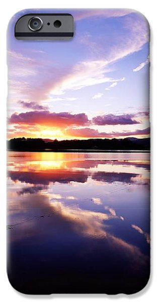 Sunset, Dinish Island Kenmare Bay iPhone Case by The Irish Image Collection