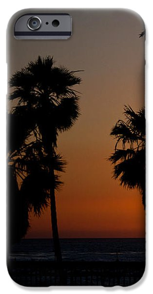 sunset in Califiornia iPhone Case by Ralf Kaiser