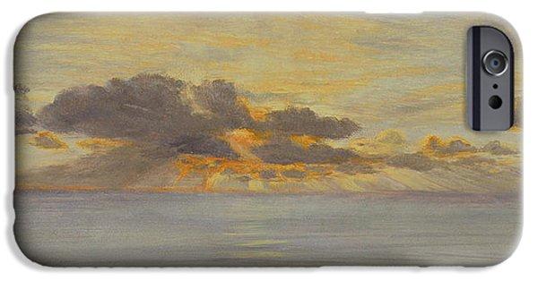 Ocean Sunset iPhone Cases - Sunset iPhone Case by John Brett