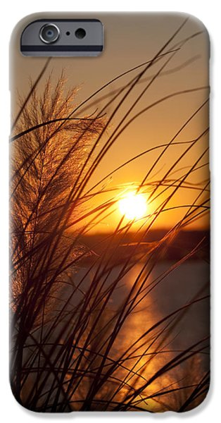 Sunset over Lake Wylie SC iPhone Case by Dustin K Ryan