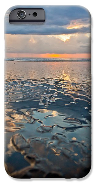 Jaco iPhone Cases - Sunset Reflection iPhone Case by Anthony Doudt
