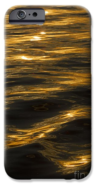 Reflection In Water iPhone Cases - Sunset Reflections iPhone Case by Dustin K Ryan