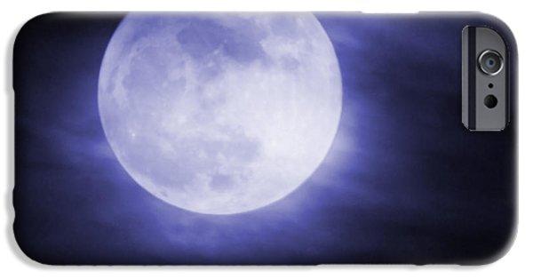 Super Moon iPhone Cases - Super Moon iPhone Case by Ernie Echols