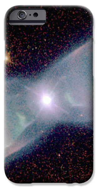 Supersonic Exhaust From Nebula iPhone Case by STScI/NASA/Science Source