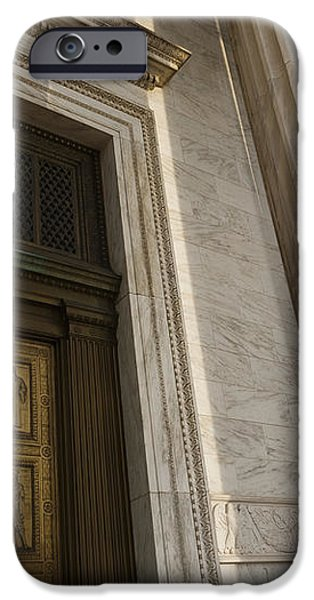 Supreme Court Entrance iPhone Case by Roberto Westbrook
