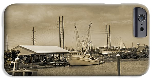 Cutler iPhone Cases - Surf City North Carolina iPhone Case by Betsy A  Cutler