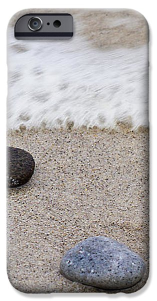 Surf Sand and Stones iPhone Case by TB Sojka