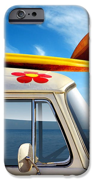 Surf Van iPhone Case by Carlos Caetano