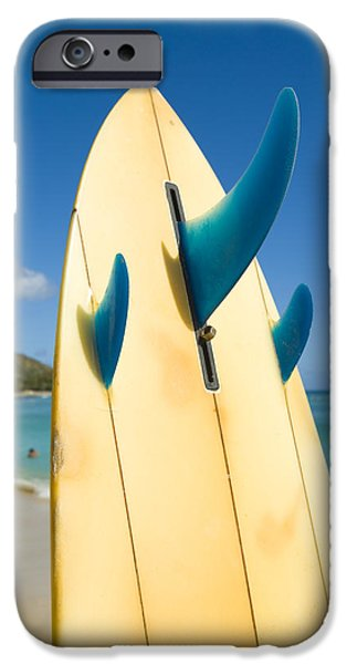 Surfboard iPhone Case by Dana Edmunds - Printscapes