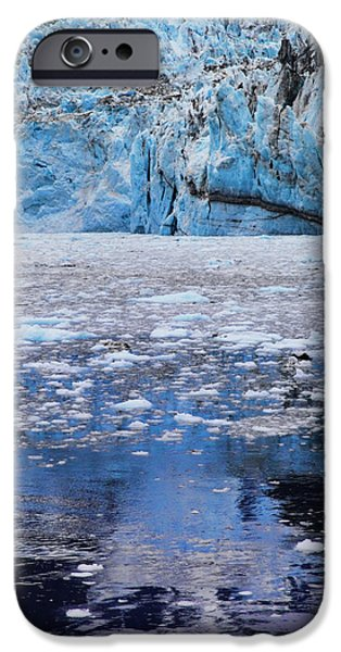 Prince William iPhone Cases - Surprise Glacier iPhone Case by Rick Berk
