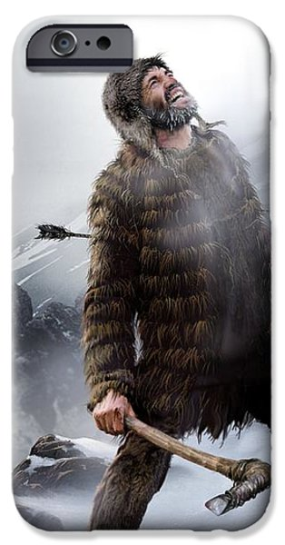 Survival Of The Fittest, Artwork iPhone Case by Smetek