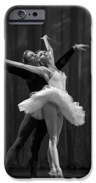 Swan Lake  White Adagio  Russia 2 iPhone Case by Clare Bambers