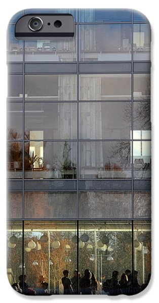 Thinking iPhone Cases - sweden Uppsala University  iPhone Case by Stylianos Kleanthous