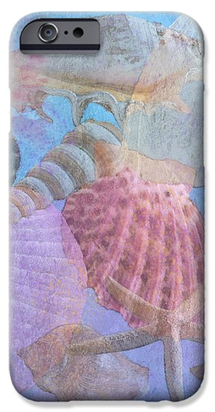 Swept Out With the Tide iPhone Case by Betty LaRue