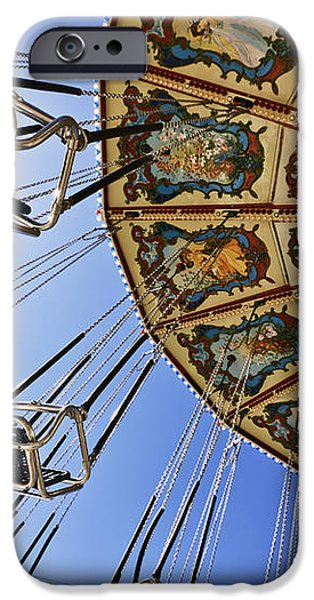 Swing Ride at the Fair iPhone Case by Jeremy Woodhouse