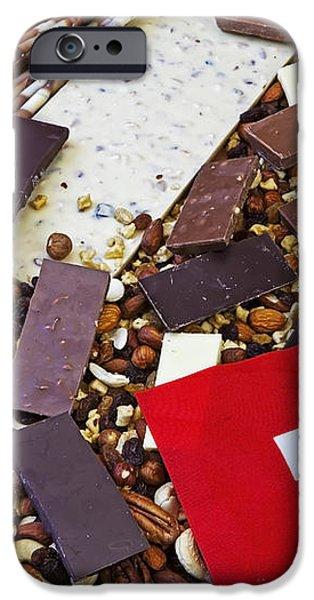 swiss chocolate iPhone Case by Joana Kruse