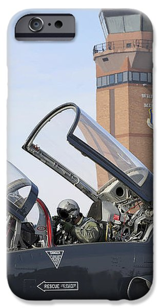 T-38 Talon Pilots Make Their Final iPhone Case by Stocktrek Images