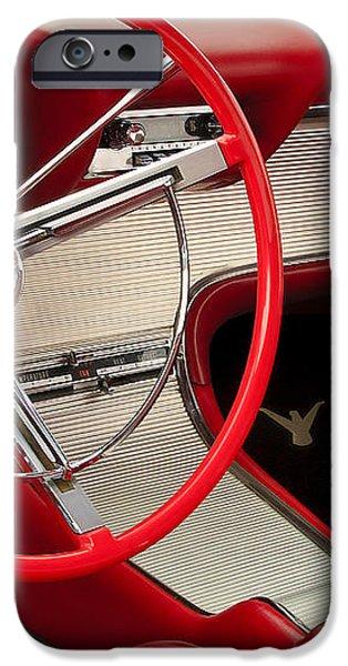 T-Bird Interior iPhone Case by Dennis Hedberg