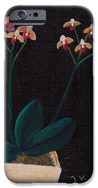 Table Orchid iPhone Case by Jose Valeriano
