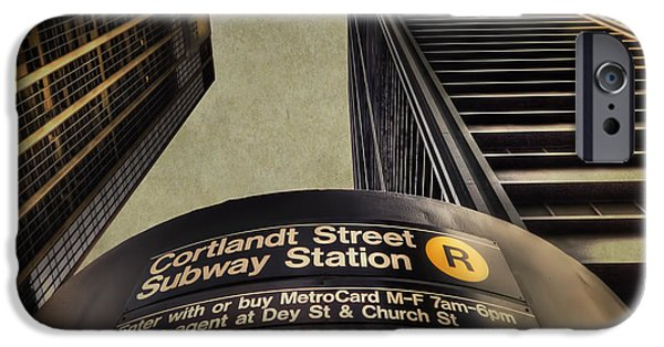 Subways iPhone Cases - Take Me Home iPhone Case by Evelina Kremsdorf