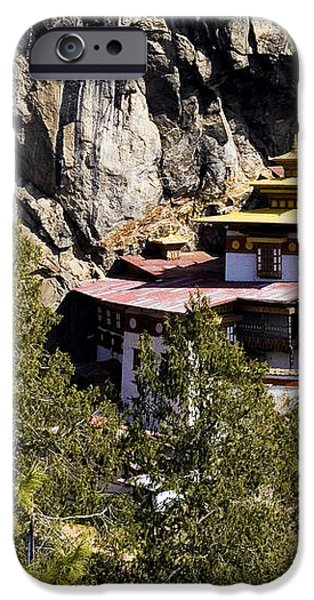 Taktsang Monastery  iPhone Case by Fabrizio Troiani