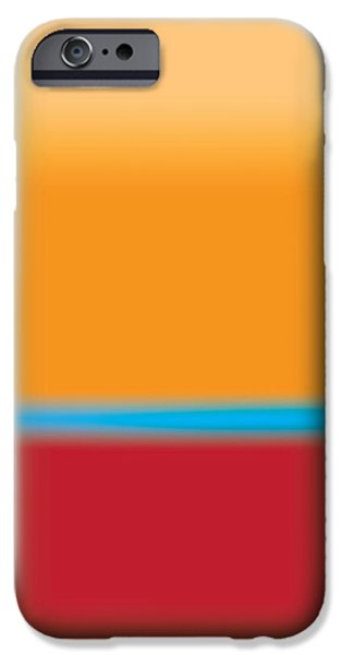 Layered Digital Art iPhone Cases - Tall Abstract Color iPhone Case by Gary Grayson
