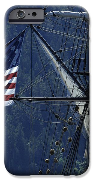 Tall Ship 3 iPhone Case by Bob Christopher