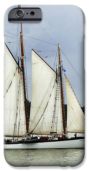 Tall Ship Tacoma iPhone Case by Bob Christopher