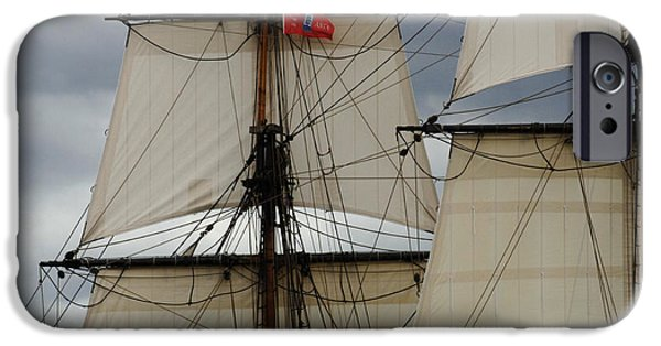 Tall Ship iPhone Cases - Tall Ships iPhone Case by Bob Christopher