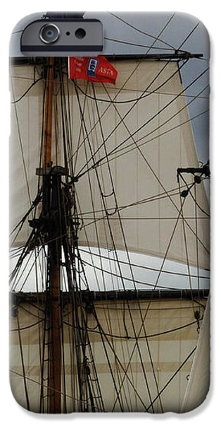 Tall Ships iPhone Case by Bob Christopher