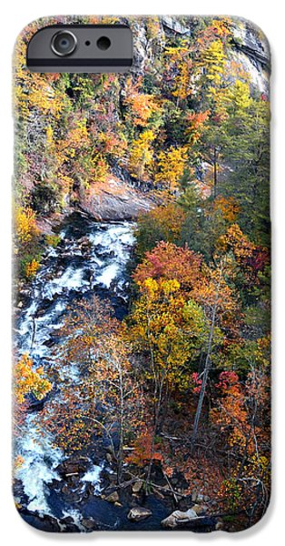 Tallulah River Gorge iPhone Case by Susan Leggett