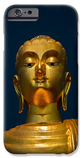 Buddhism iPhone Cases - Tangsai Buddha iPhone Case by Adrian Evans