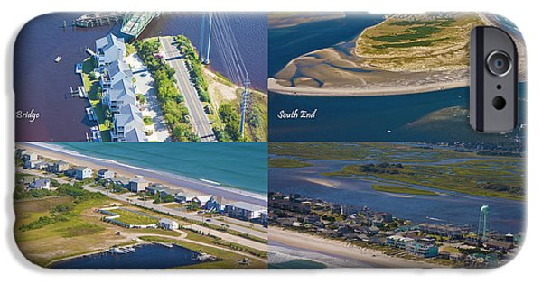 Topsail Island iPhone Cases - Taste of Topsail iPhone Case by Betsy A  Cutler