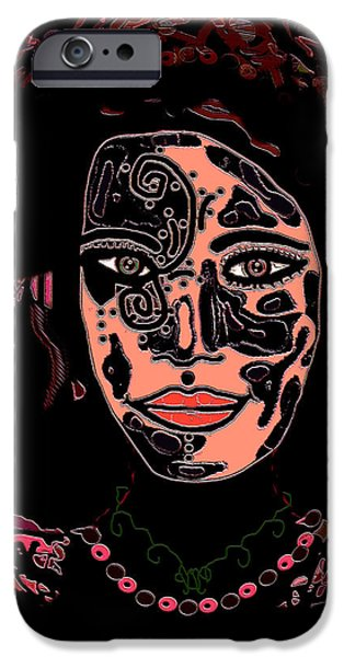 Beauty Mark iPhone Cases - Tattoo Artist iPhone Case by Natalie Holland