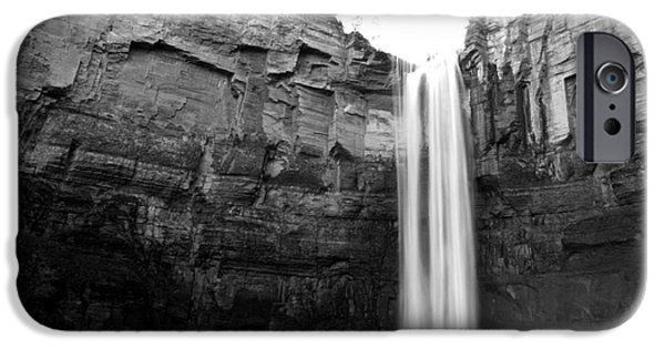 Taughannock Falls iPhone Cases - Taughannock Falls  iPhone Case by Ken Marsh
