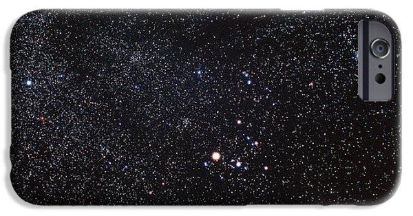 Constellations iPhone Cases - Taurus Constellation iPhone Case by Luke Dodd