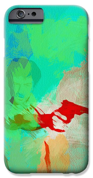 Taxi Driver iPhone Case by Naxart Studio