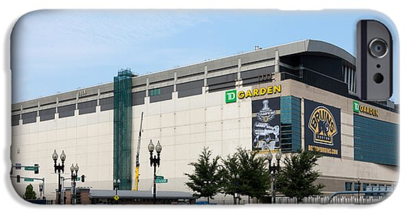 Recreation Building iPhone Cases - TD Garden iPhone Case by Clarence Holmes