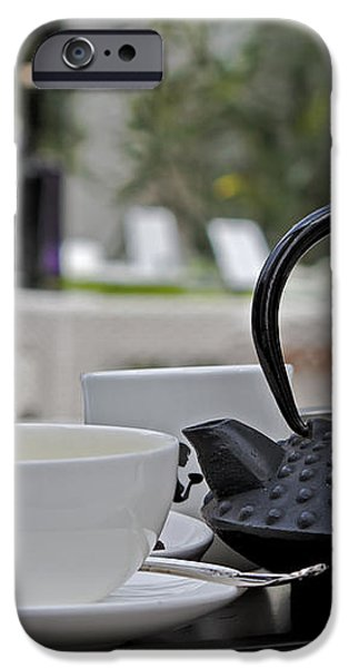 tea time iPhone Case by Joana Kruse