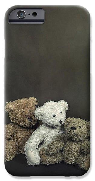 teddy bear family iPhone Case by Joana Kruse