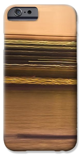 Tempe Town Lake Rowers Abstract iPhone Case by Dave Dilli