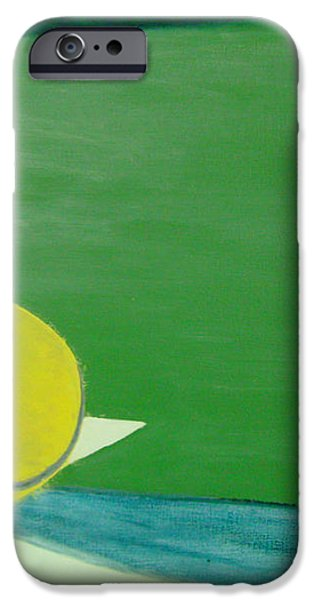 Tennis Reflections iPhone Case by Ken Pursley
