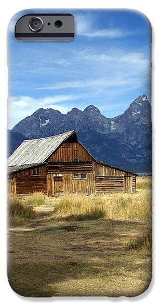 Teton Barn 3 iPhone Case by Marty Koch