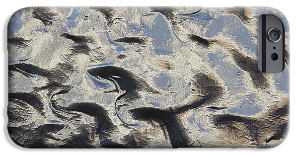 Texture iPhone Cases - Textured Glass iPhone Case by Mike McGlothlen