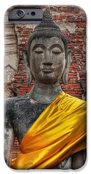 Buddhist iPhone Cases - Thai Buddha iPhone Case by Adrian Evans