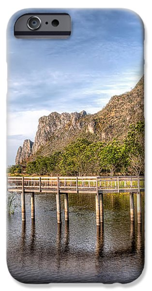 Thai Park iPhone Case by Adrian Evans