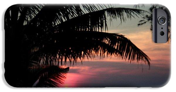 Nature Study iPhone Cases - Thai Sunset on Koh Kut 1 iPhone Case by Jennifer  Bright