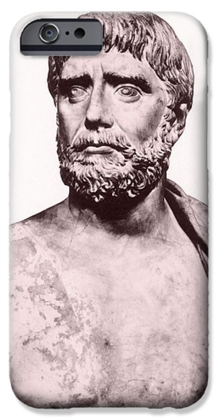 Thales, Ancient Greek Philosopher iPhone Case by Photo Researchers