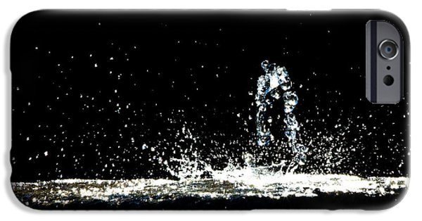 Metaphor iPhone Cases - That falls like tears from on high iPhone Case by Bob Orsillo